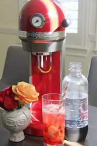 Strawberry Lychee Soda | www.brunchnbites.com