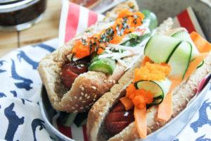 Spicy Shishito Hotdog   www.brunchnbites.com