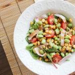 Miso Roasted Corn Salad | www.brunchnbites.com