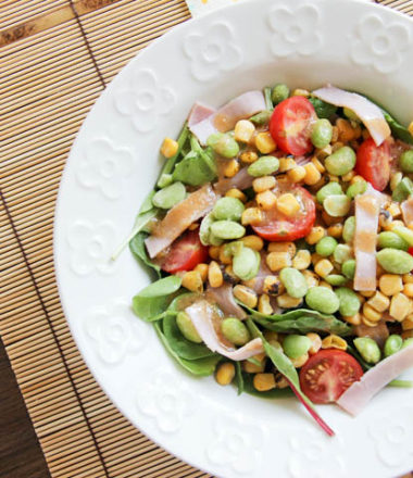 Miso Roasted Corn Salad | www.brunchnbites.com