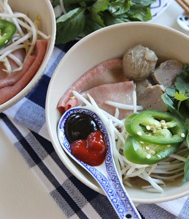 Slow Cook Beef Pho | www.brunchnbites.com
