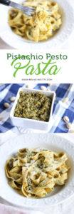 Pistachio Pesto Pasta | www.brunchnbites.com