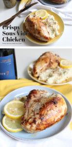 Crispy Sous Vide Chicken   www.brunchnbites.com