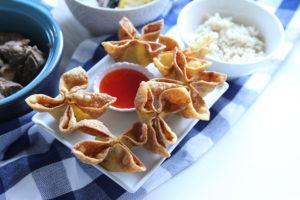 Crab Rangoon | www.brunchnbites.com