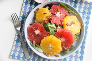 Winter Citrus Salad | www.brunchnbites.com