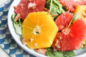 Winter Citrus Salad | www.brunchnbites.com