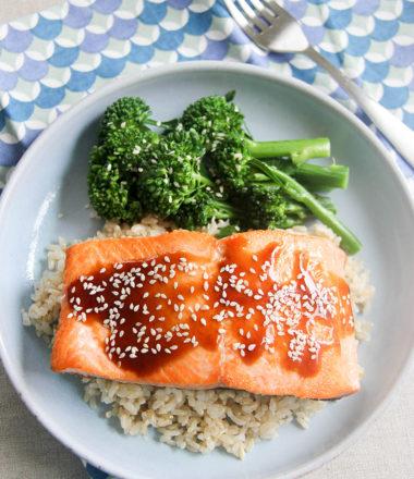 Salmon Teriyaki | www.brunchnbites.com