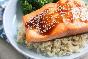 Salmon Teriyaki   www.brunchnbites.com