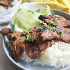Vietnamese Grilled Pork Chops | www.brunchnbites.com