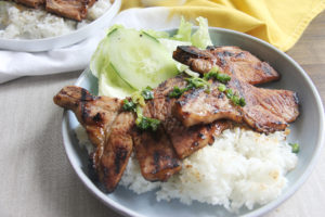 Vietnamese Grilled Pork Chops   www.brunchnbites.com