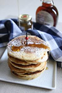 Lemon Ricotta Pancakes | www.brunchnbites.com