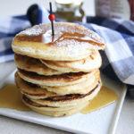 Lemon Ricotta Pancakes   www.brunchnbites.com