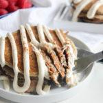 Carrot Cake Pancakes | www.brunchnbites.com