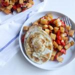 Sweet Potato Hash   www.brunchnbites.com