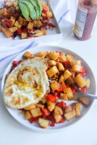 Sweet Potato Hash | www.brunchnbites.com