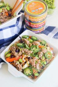 Cold Asian Noodle Salad | www.brunchnbites.com