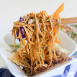 Cold Asian Noodle Salad   www.brunchnbites.com