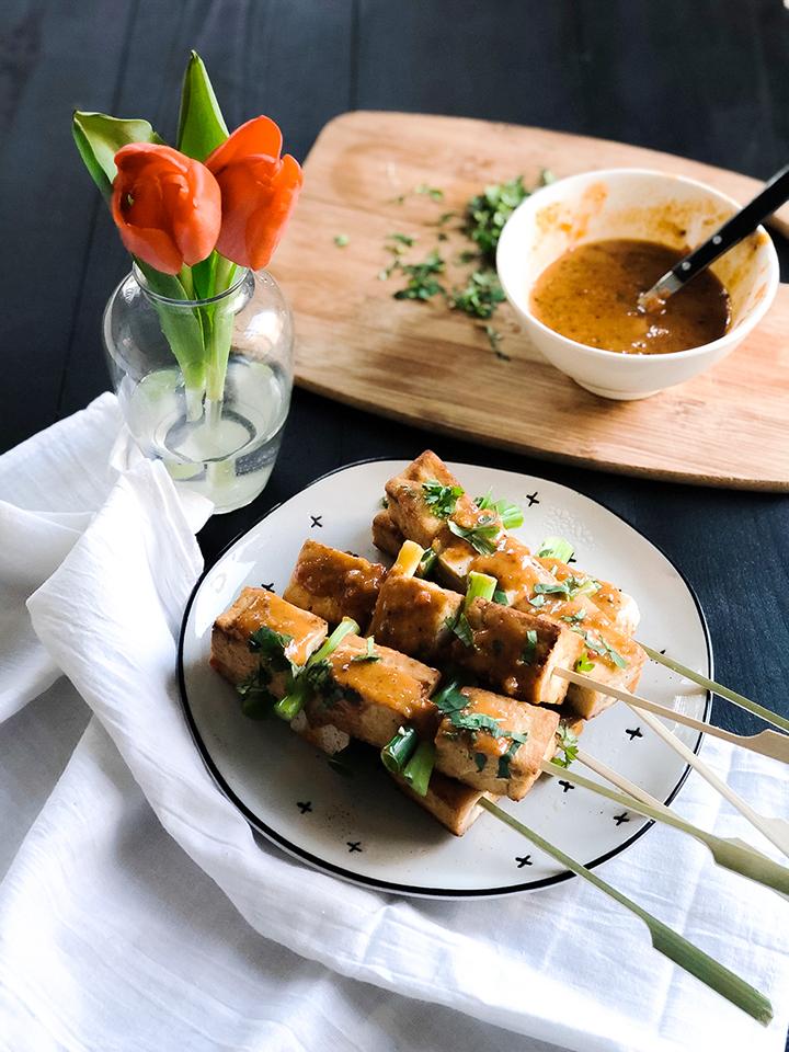 Thai Tofu Satay   www.brunchnbites.com