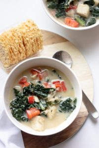 Vegetarian Zuppa Toscana. Now you can have your favorite Olive Garden soup at home with this healthier Zuppa Toscana! It's seriously comforting food at it's best!