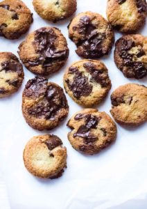 This Keto Chocolate Chip Cookie recipe gives all of the flavors I crave without the guilt for cheating on my keto diet.
