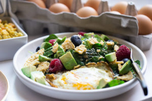 Yes, breakfast salad is a thing and it is worth waking up for.