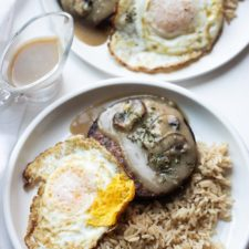 Vegetarian Loco Moco A Local Hawaiian Favorite In A One Pot Method