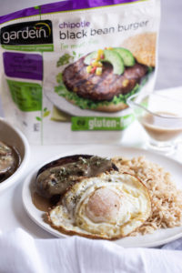Loco moco is one of the most iconic Hawaiian foods, a loco moco is usually a belly bomb of a meal, but this version: Vegetarian Loco Moco is lighter, healthier... and delicious!