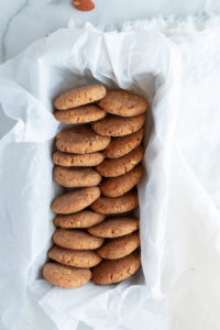 Sweet, crunchy and easy to make, these best low-carb no-bake cookies are the perfect low carb treat that can be done in less than 10 minutes.
