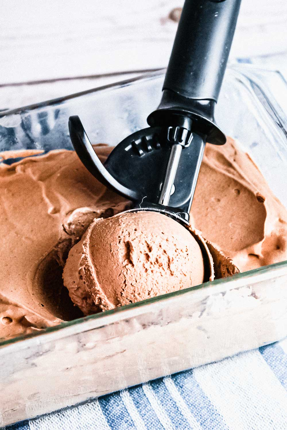 Easy 3 Ingredient Chocolate Ice Cream Recipe No Churn
