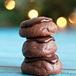 Chocolate Ganache Cookies make a delicious treat. Seriously fudgy, rich and the most decadent chocolate cookies. It's what a chocaholic's dreams are made of.