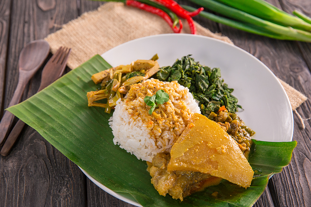 Indonesian Beef Rendang! Each piece is caramelized on the outside, tender on the inside & smothered in a thick, rich, caramelized aromatic curry sauce. Make this Beef Rendang so you can have a taste of the Best Food in the World!