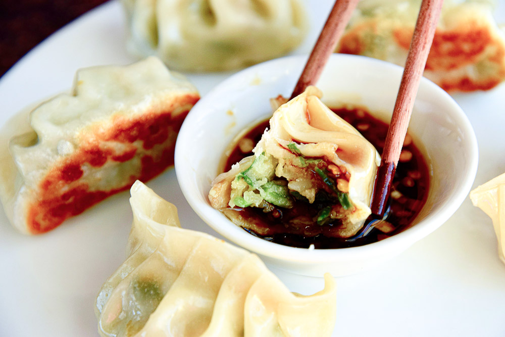 A homemade pan-fried Tuna Potstickers are a flavor-packed and savory potsticker recipe. They make an easy freezer-friendly appetizer, and now there's no need to order takeout and just make your own.