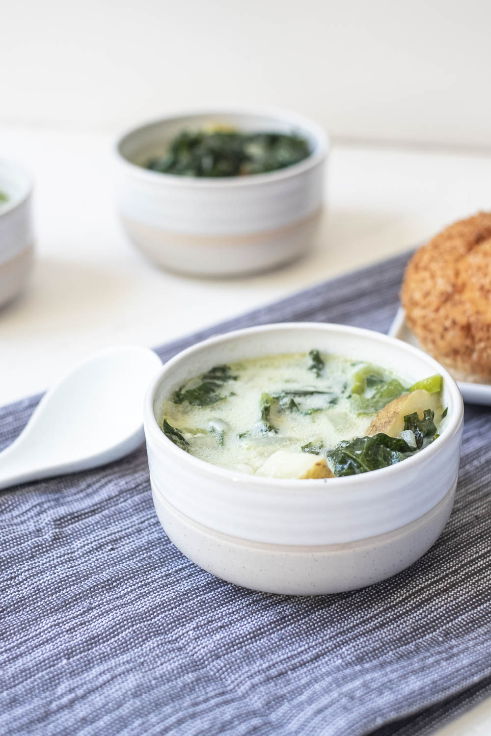 Vegetarian Zuppa Toscana. Now you can have your favorite Olive Garden soup at home with this healthier Zuppa Toscana! It's exceptionally comforting food at its best!