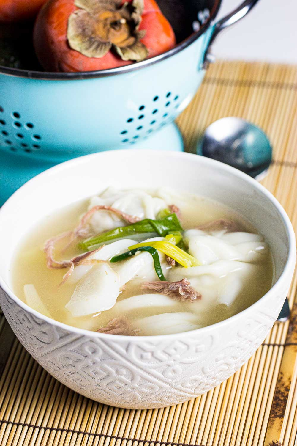 How To Make Korean Rice Cake And Dumpling Soup