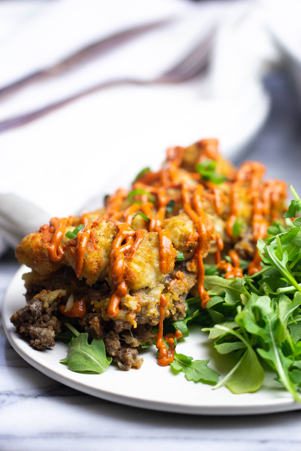 Savory, delicious, and healthier Bulgogi Casserole is an easy dinnertime recipe that everyone will love. It is made with simple ingredients and the ultimate comfort food. Plus, you can enjoy this for brunch, too!