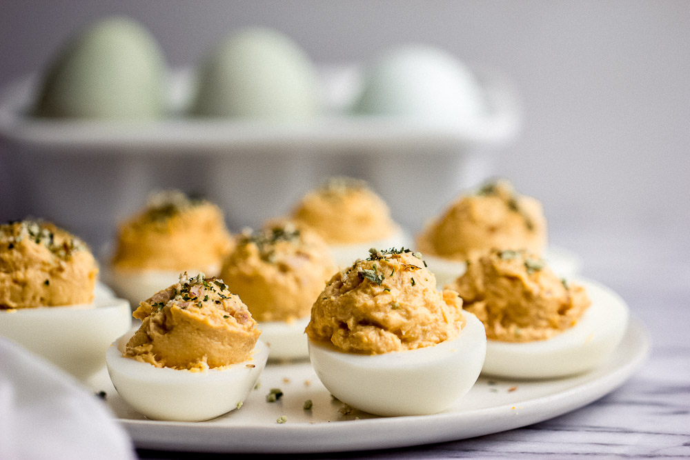 A classic side dish for any occasion, this Japanese Deviled Eggs is easy to make and a winner every time. They're the quintessential appetizer and you're going to want to make extra!!