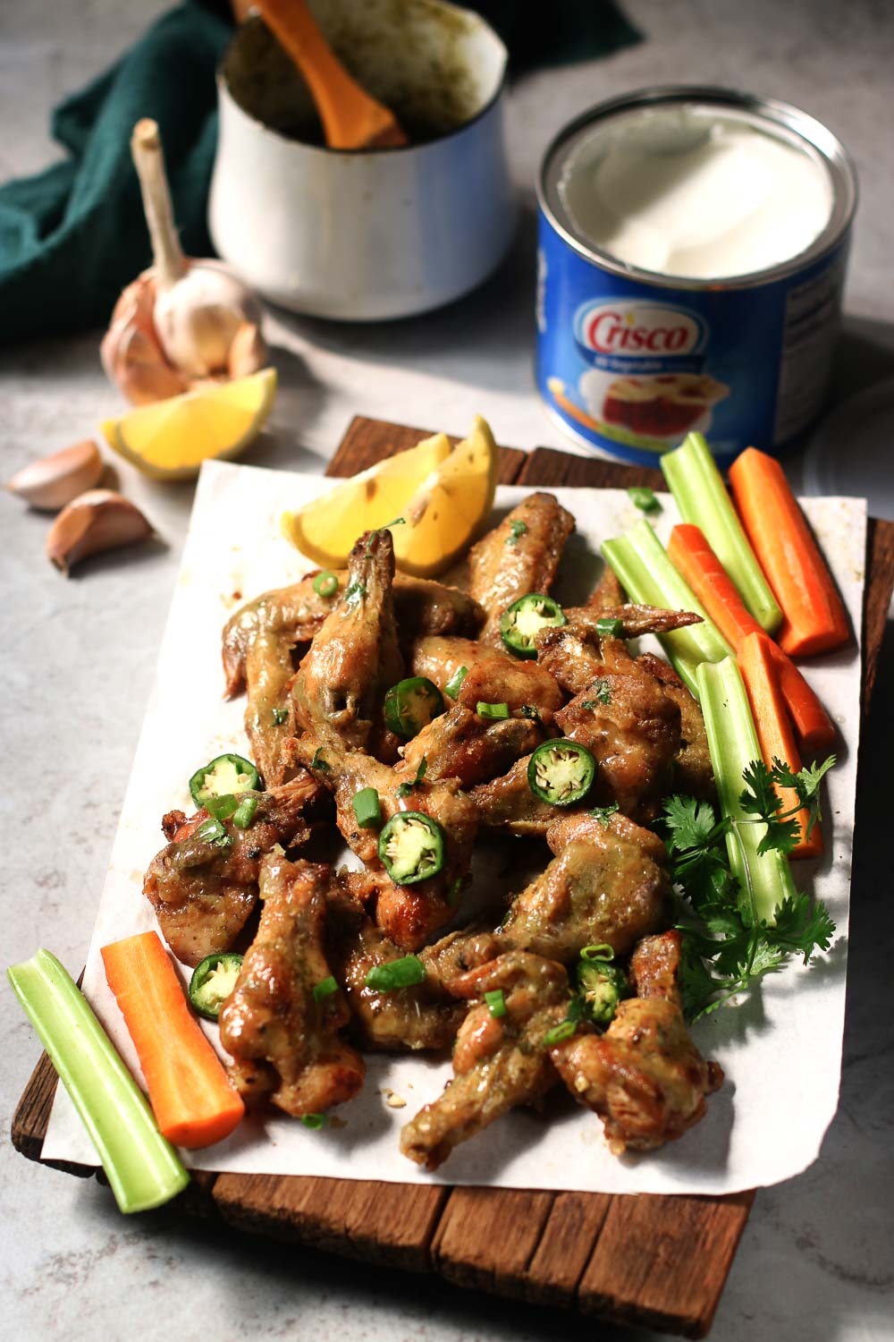 When it comes to these Vietnamese crispy chicken wings, you won't be able to stop at one. Crunchy on the outside covered with delicious Vietnamese-inspired sauce, these are perfect party food for a crowd or even a family meal.